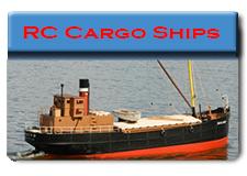 Radio Control Cargo Ships