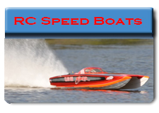 Radio Control Speed Boats