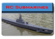 Radio Control Submarines