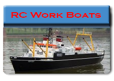 Radio Control Work Boats