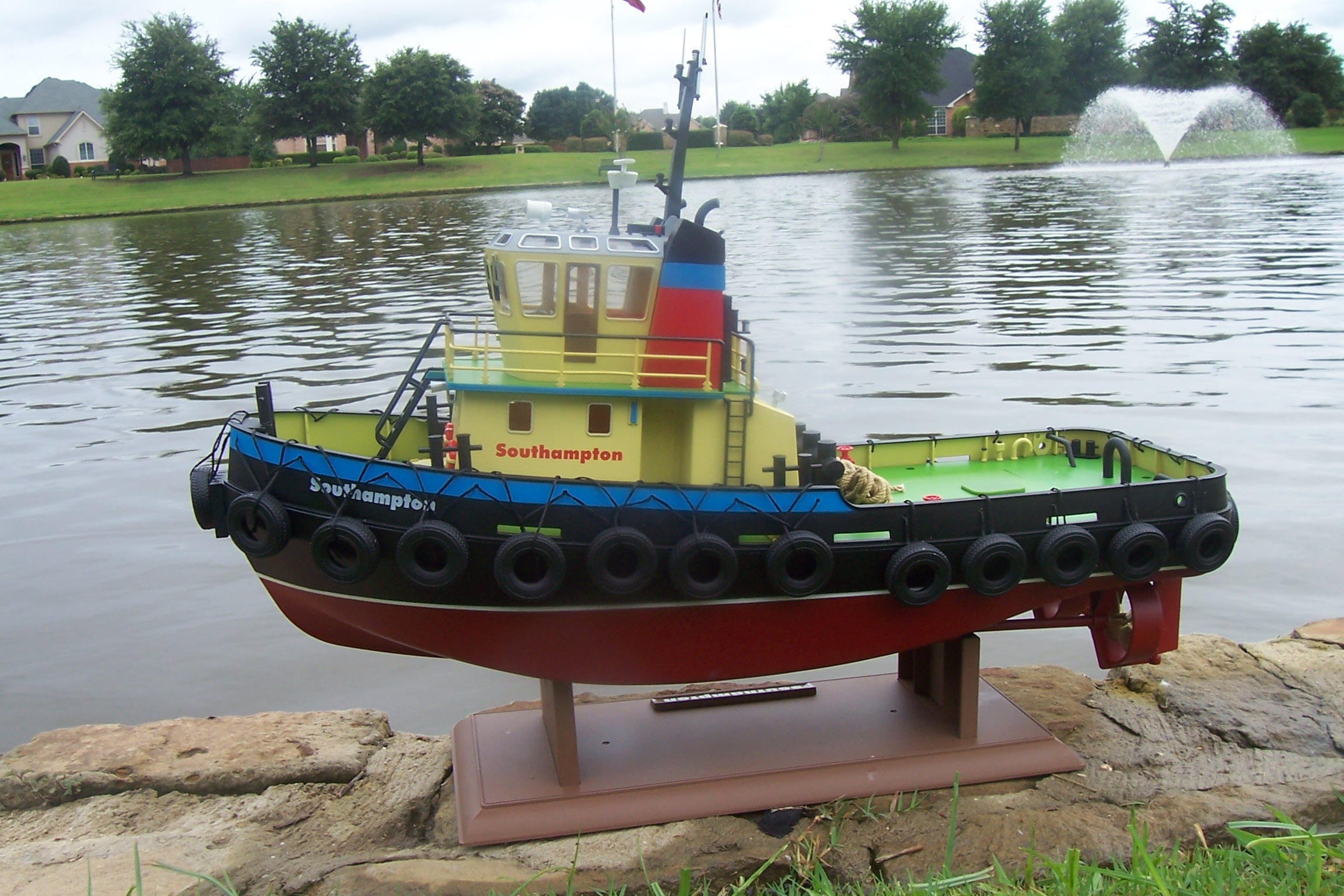 Model tugboat plans ~ Junk Her