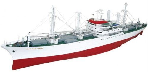 HUGE RC CAP SAN DIEGO CARGO SHIP – 63.5 INCHES LOA – ALMOST READY TO RUN (ARTR) – | The Scale ...