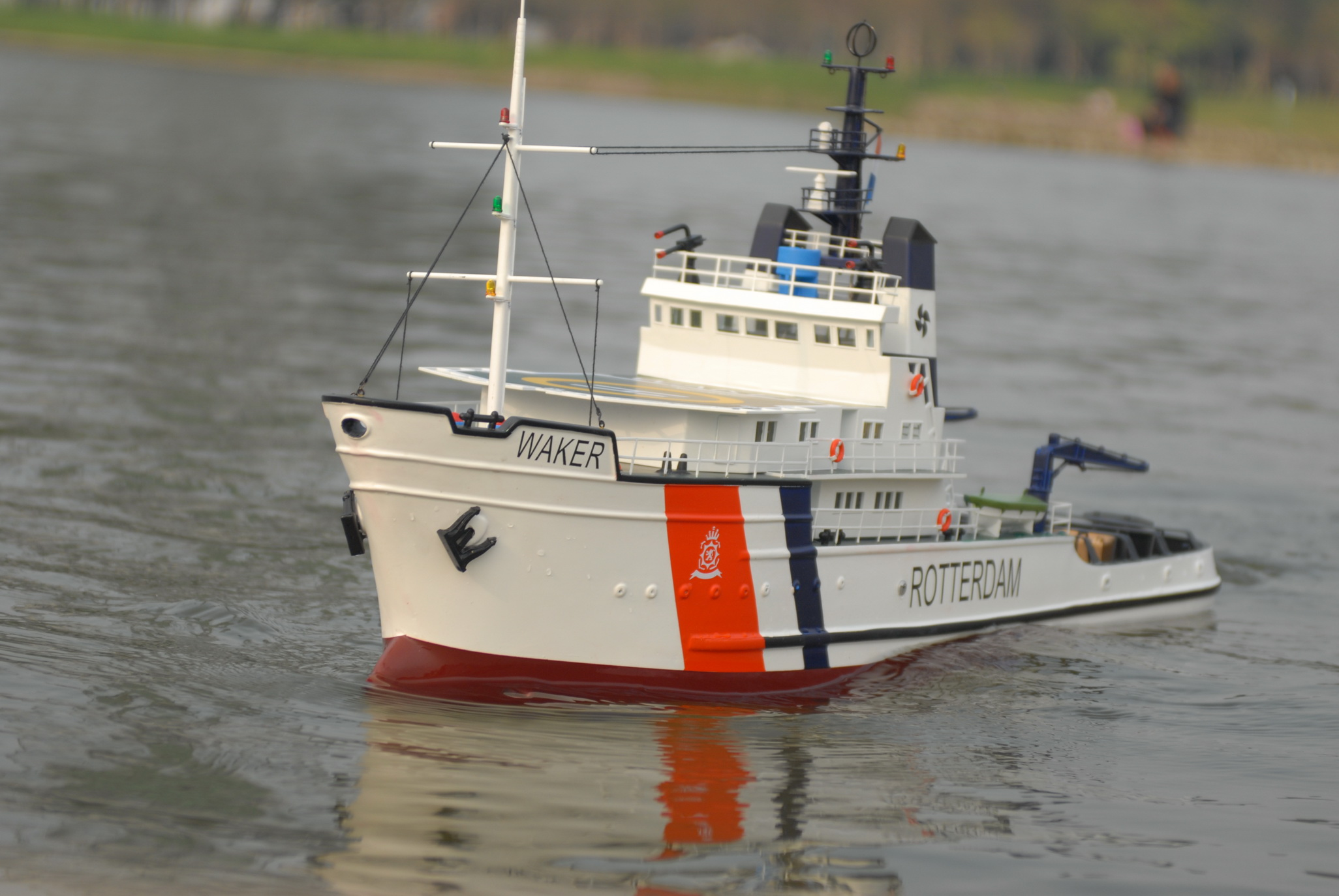 RC EMERGENCY TOW VESSEL (ETV) WALKER | The Scale Modeler - Trains, Boats, Planes, Ships