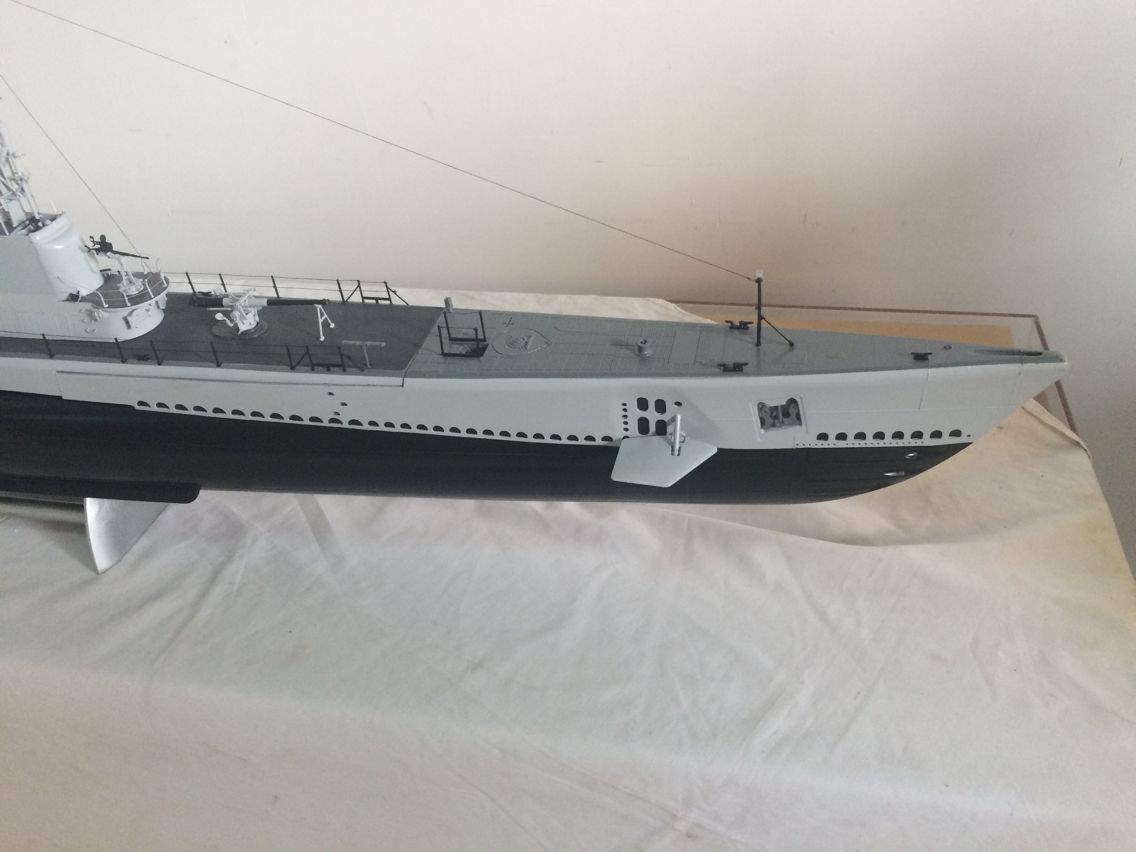1 72 Scale Us Gato Class Rc Submarine Ready To Run The