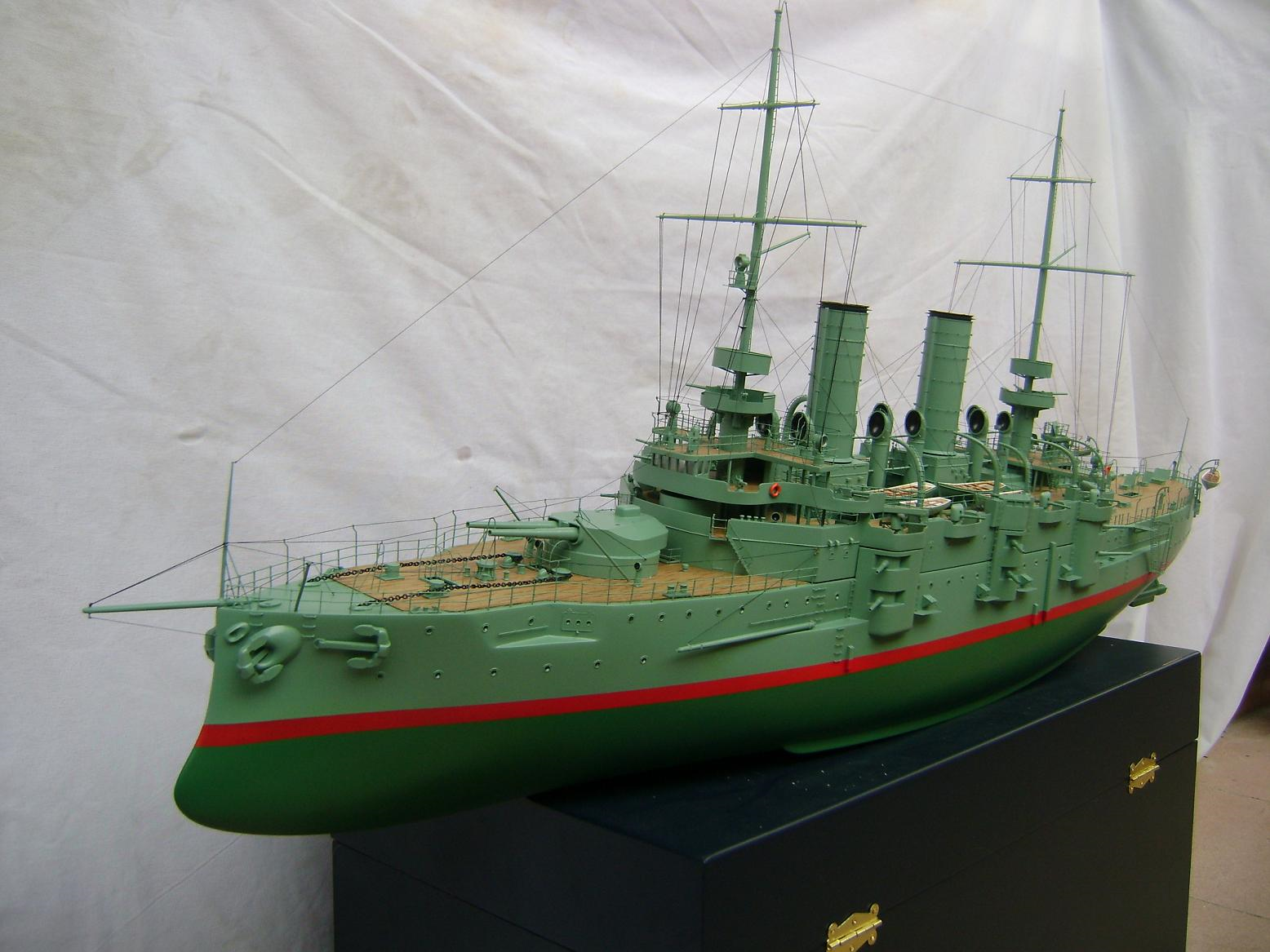 HUGE 47 INCHES RTR RC SMS BABENBURG BATTLESHIP PRE-DREADNOUGHT | The
