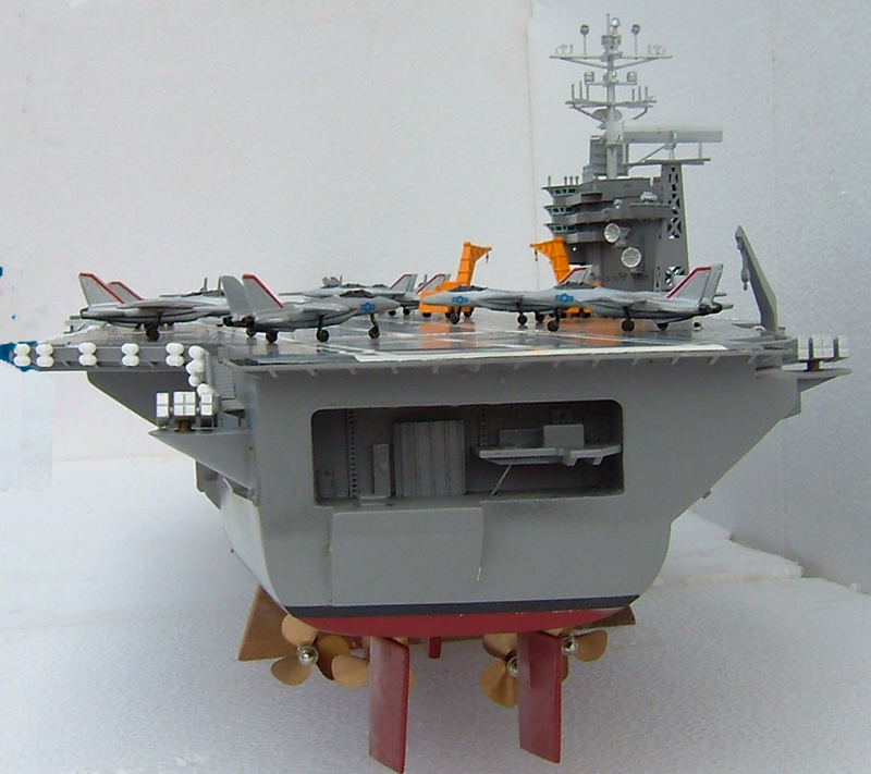 Huge Rc Uss Nimitz Aircraft Carrier Ready To Run 68 Inches In Length