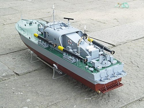HUGE 43 INCHES IN LENGTH – RC READY TO RUN VOSPER PERKASA – DETAILED VERSION | The Scale Modeler ...