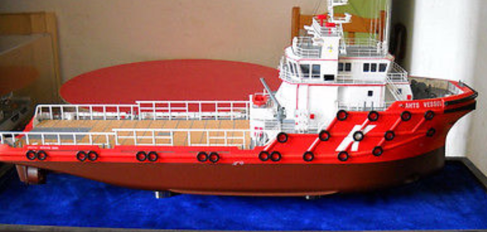 RC ANCHOR HANDLING TUG BOAT SHIP ( AHTS ) – UNASSEMBLED KIT | The Scale Modeler - Trains, Boats ...