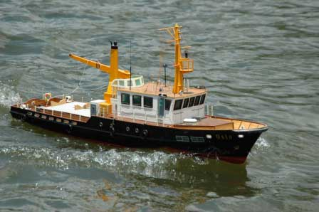 Rc ready to run north star 1949 vintage trawler fishing for Rc fishing boat