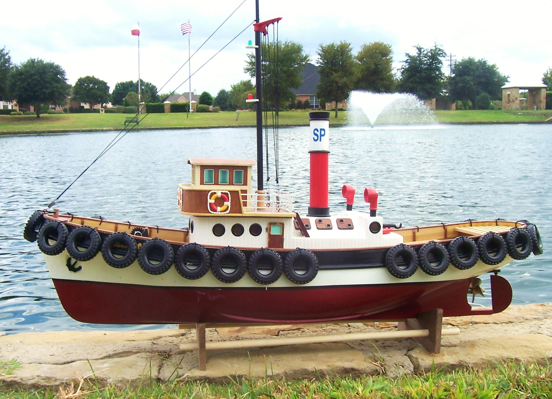 RC SAVANNAH HARBOR TUG BOAT – READY TO RUN | The Scale Modeler - Trains, Boats, Planes, Ships