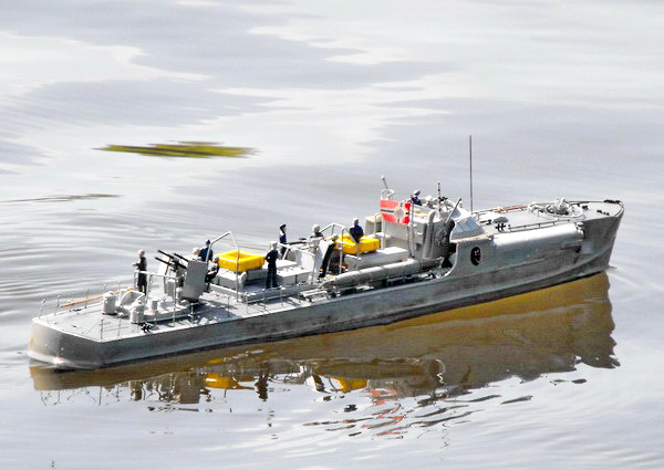 Huge Rc S100 Schnellboot Wwii German Torpedo Boat Ready