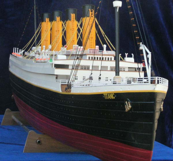 RC 1:150 SCALE RMS TITANIC – READY TO RUN | The Scale Modeler - Trains, Boats, Planes, Ships