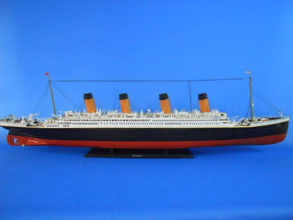 Giant Remote Controlled Rms Titanic: Hopefully There Are
