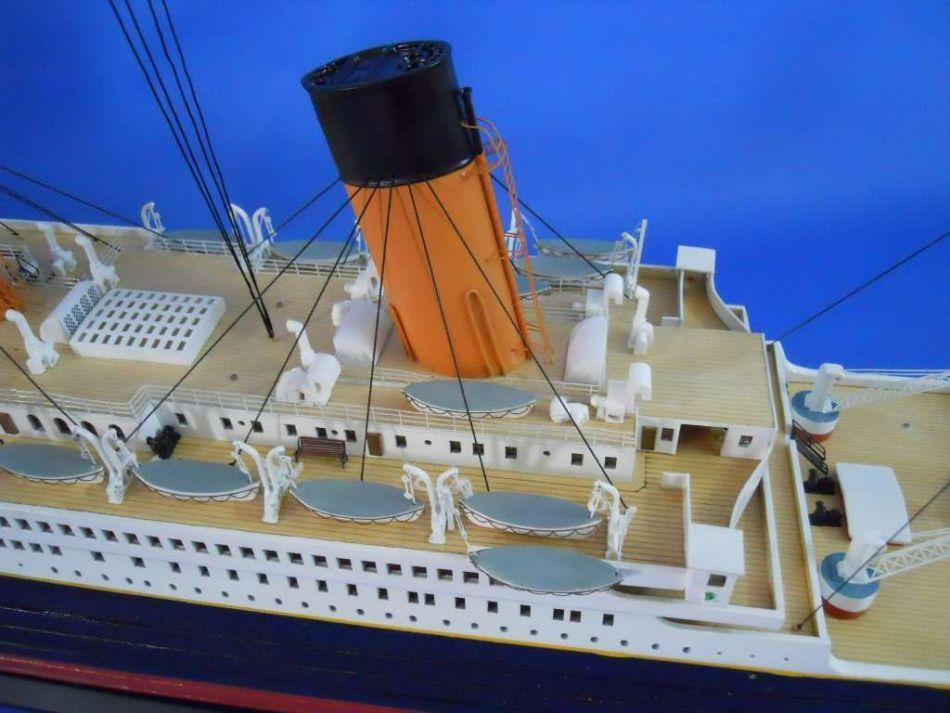 Nqd 757 1/325 2.4g 80cm simulation titanic rc boat
