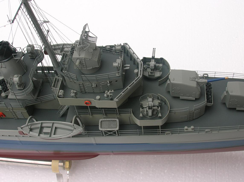 RC READY TO RUN USS BLACK – FLETCHER CLASS DESTROYER | The